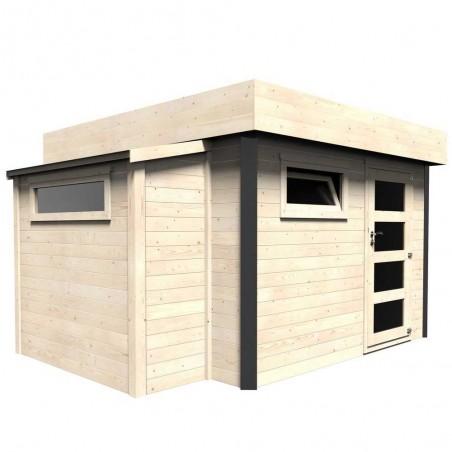 Caseta /Taller I Caseta de madera Brean, techo plano