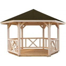 Cenador pérgola Betty, 9.9 m²
