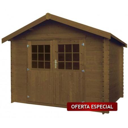 Oferta especial caseta Ostro Tratada. 28 mm, 300x225cm. 6,68m²