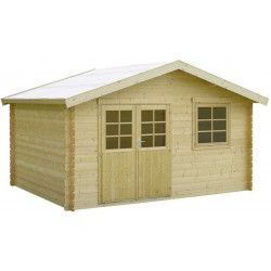 Casetas de madera cobertizos de madera casetas de - Bauhaus casetas jardin ...