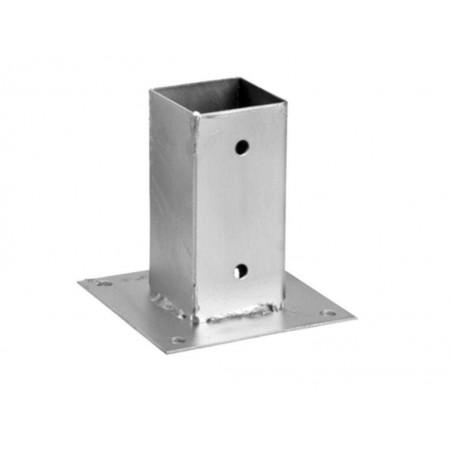 Anclaje metálico pérgola 12x12 cm