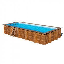 Piscina madera rectangular 918x327cm