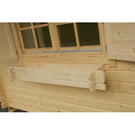 Jardinera para ventana 70x15 cm