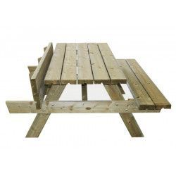Mesa de madera picnic Ruby
