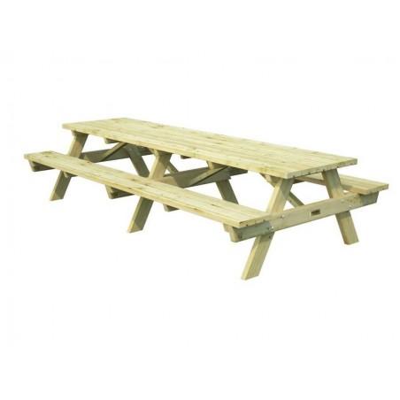 Mesa de madera para jardin Ruby30