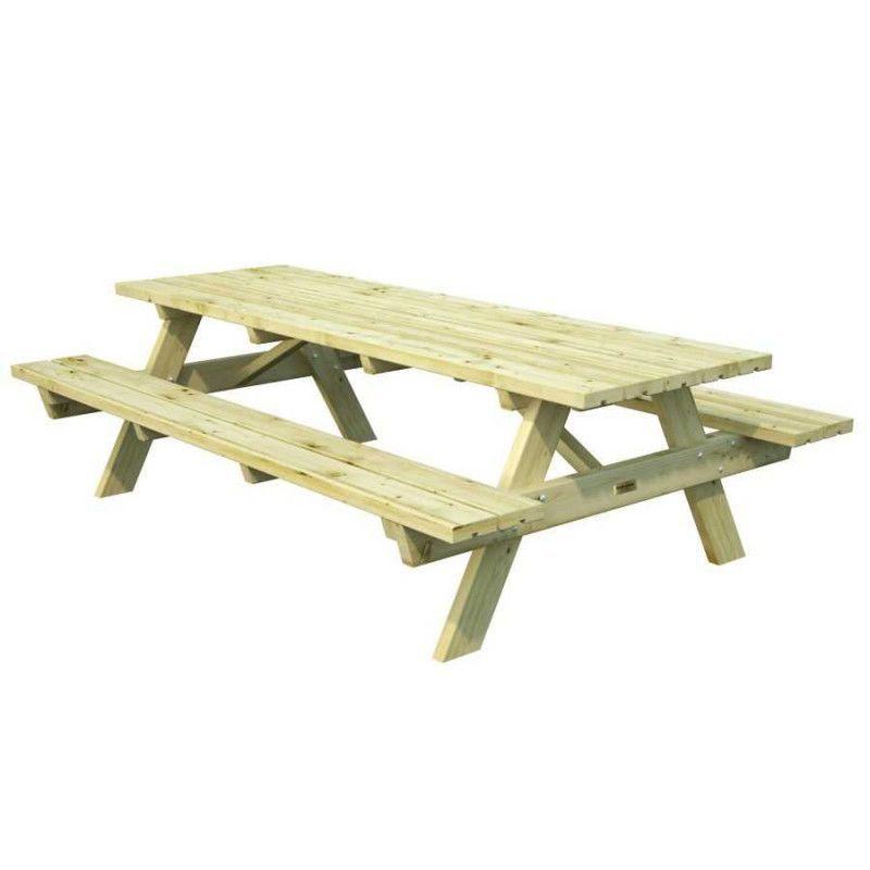 Mesa jardin madera Ruby24. 44 mm, 161 x 239 cm