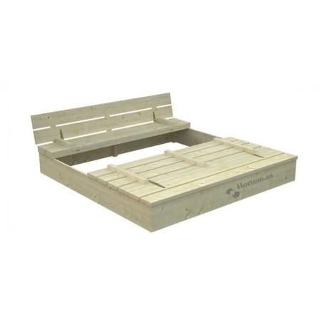 Arenero Sandy 2, 137 x 137 x 21 cm