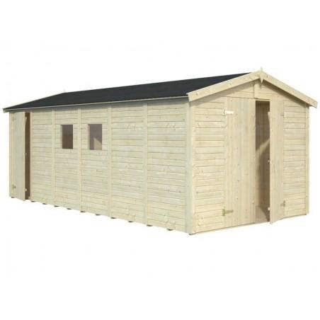 Garaje madera Dan 16mm. 273x550 cm. 15m²