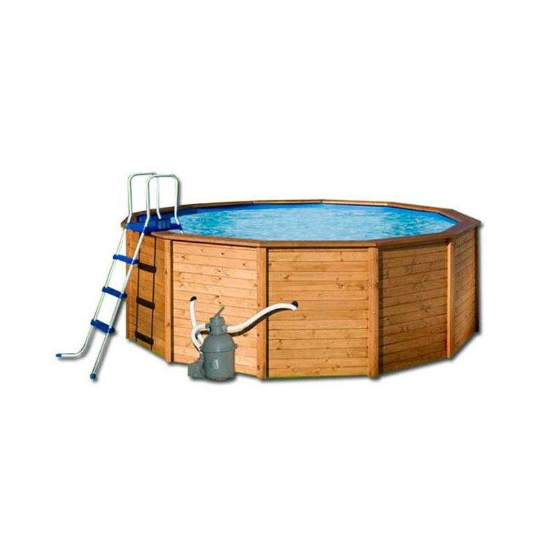 Piscina madera redonda Ø 315