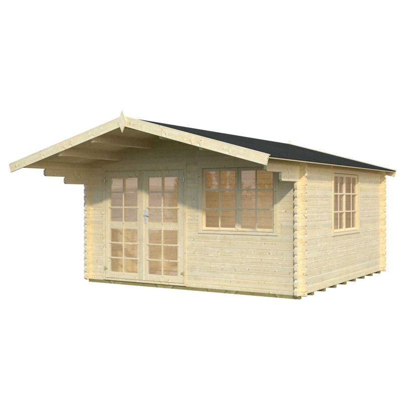Caseta de jardín England1, 40mm, 404 x 304 cm, 12.28m²