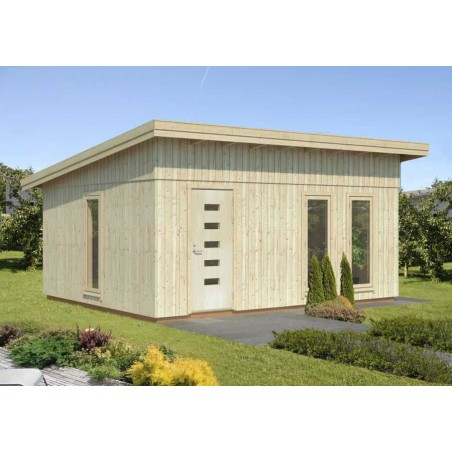 Caseta de madera habitable Annika 21,5 m² - Palmako
