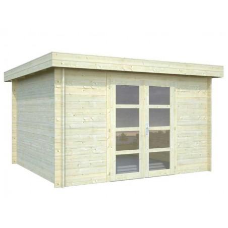 Caseta de madera Elsa 9,6m2 - Palmako