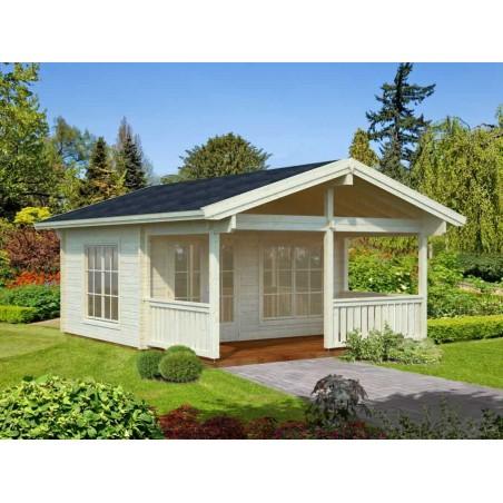 Casa de madera Agneta 18,8+12,5 m²