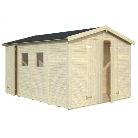 Cobertizo de madera Dan - 10m2