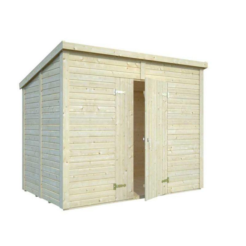 Cobertizo de madera para jardín - 4,2m2