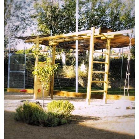 Parque de juegos en madera - Hortum