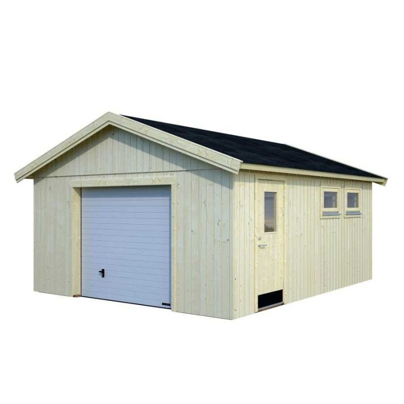 Garaje de madera para jardin - Andre