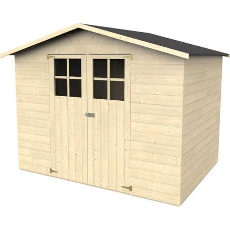 Caseta de madera para jardín Lodum