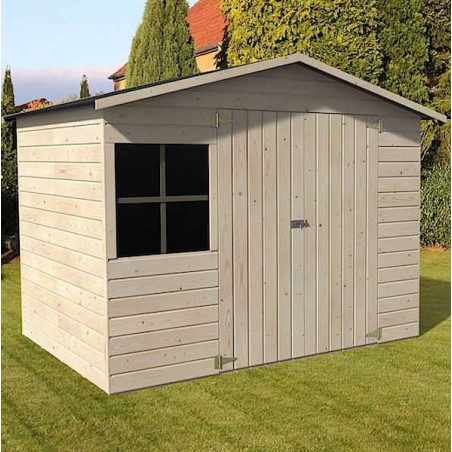 Caseta de madera con suelo - Caseta de madera económica