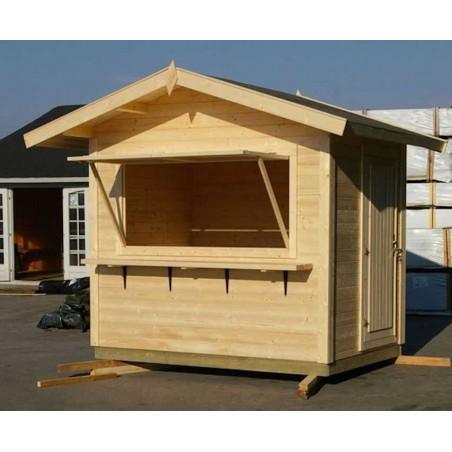 Kiosco de madera Stella - Venta helados