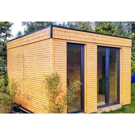 Caseta de madera habitable 10m2 - Caseta Habitat