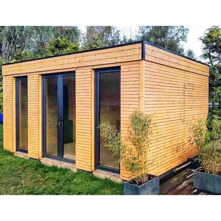 Caseta de madera habitable 16,70m² - Caseta Habitat