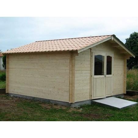Caseta de madera 16m2 - Caseta 4x4 m