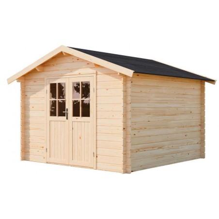Caseta madera Hofi - 3x3m - Sin Suelo