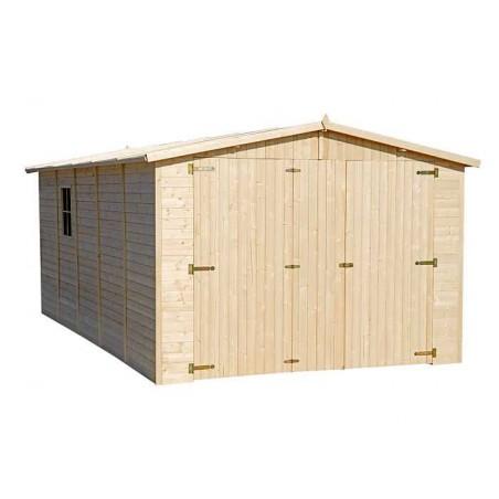 Garaje madera Mikhail I.19mm. 300 x 500cm. 15 m²