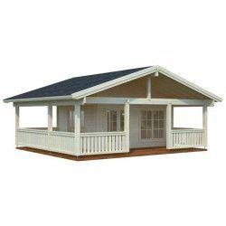 Casa de madera Agneta 18,8+28,8 m²