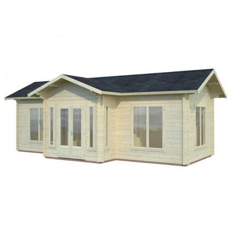Casa de madera Anna 26,8 m²