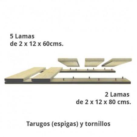 Kit Palet 4x80x60 CM