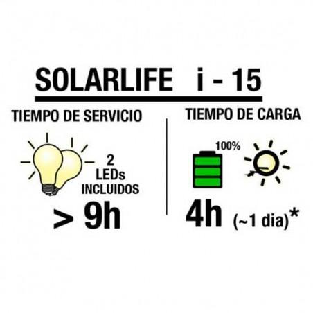 Kit solar 15W-12VCC