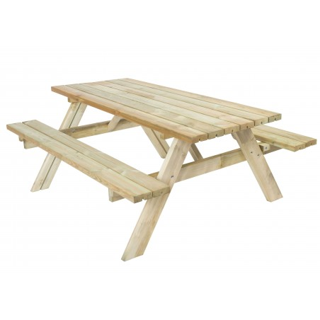 Mesa picnic 42 mm, 154 x 200 cm   6 a 8 Personas