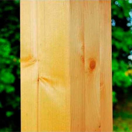 Postes de madera laminada de 12x12 cm - Pérgola Robert  11,7 m²