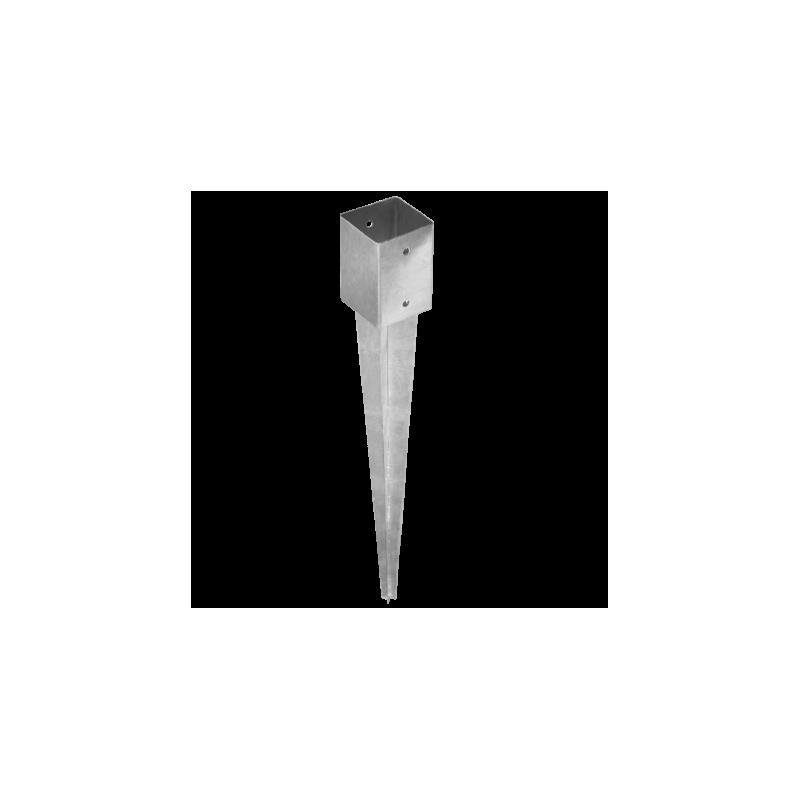 4 unids. Pletinas con punta 12x12 cm