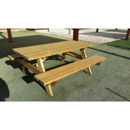 mesa de madera jardin Ruby