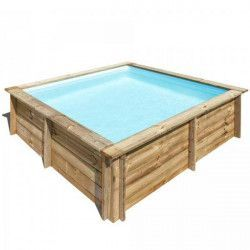 Piscina madera cuadrada 225 x 225 cm