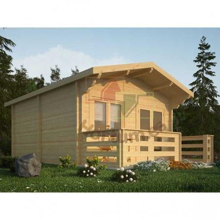 Caseta Habitable Huron 34 mm, 400x500cm, 20 m²