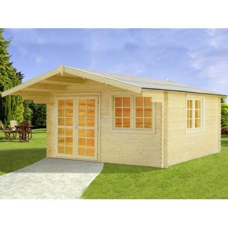 Caseta madera England1, 40mm, 404 x 304 cm, 12.28m²