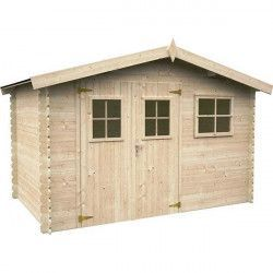 Caseta de madera Latina, 19 mm, 320 x 205cm, 6.56 m²