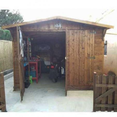 Garaje de madera Mikhail I |15 m² | Hortum