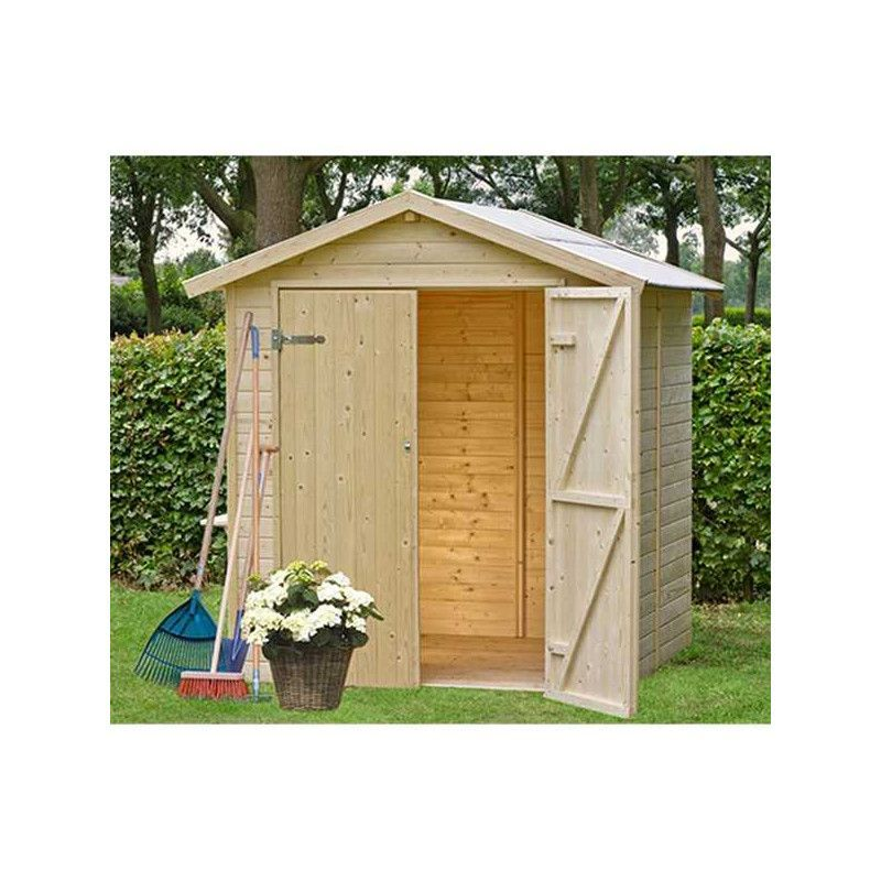 Caseta de madera Daniel. 12 mm, 200 x 200 cm. 4 m² | KG12103