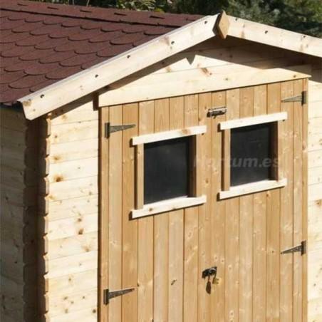Cobertizo de madera Alexander I 19 mm. 180x180 cm. 3,24 m²