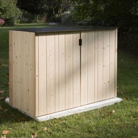 Armario de madera para jardín  15mm, 120 x 57 cm