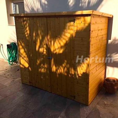 Armario de madera para jardín ideal para guardar bicis 182x88cm