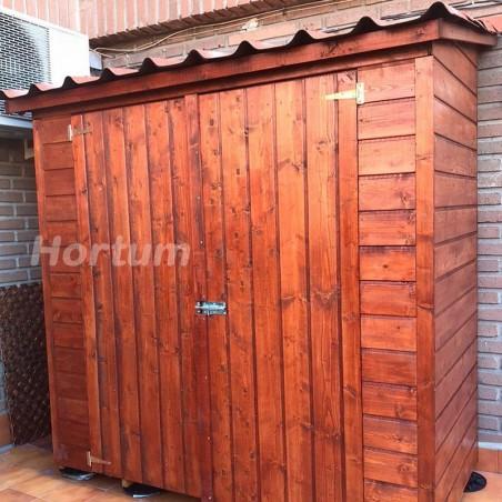 Armario de madera con teja asfáltica Albecove 170x82cm, 12mm