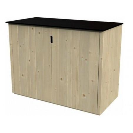 armario de madera para exterior