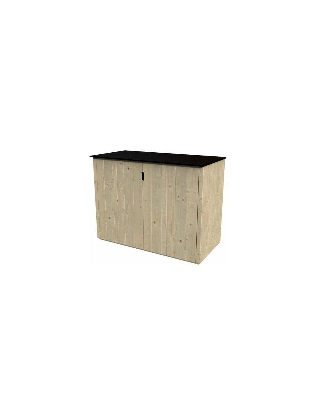 Armarios de exterior en madera ideal para jard n hortum for Armario exterior para guardar bicicletas