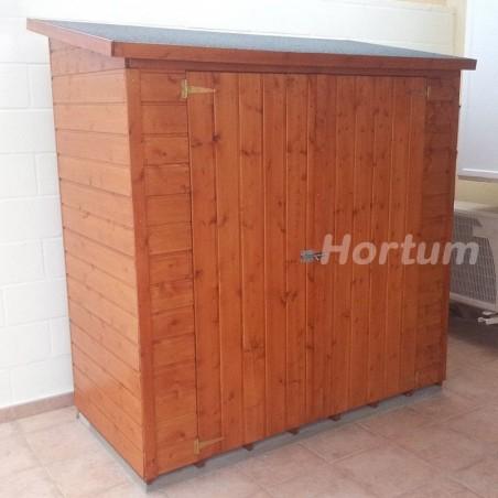 Armario de madera para exterior Albecove 170x82cm, 12mm